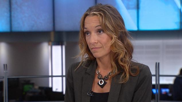 Marie-Ève Morin, médecin de famille spécialisée en dépendances.