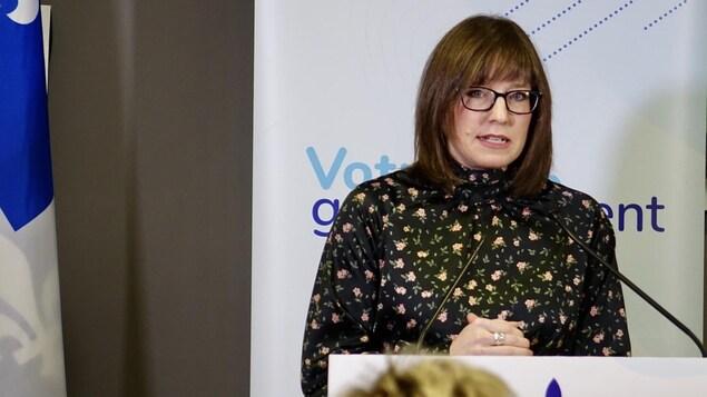 La ministre responsable du Bas-Saint-Laurent, Marie-Eve Proulx