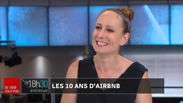La chroniqueuse voyages Marie-Julie Gagnon.