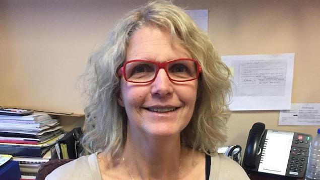 La Dre Marie-Laure Collinge est chef du service d'urgence du Centre hospitalier universitaire de Sherbrooke