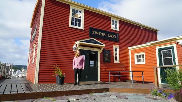 Marieke Gow, propriétaire de l'auberge Twine Loft à Trinity, Terre-Neuve.