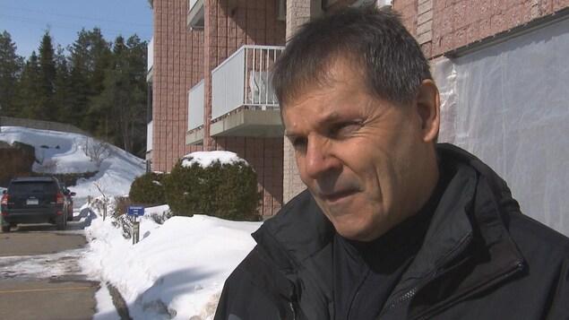 Mario Boily en entrevue.