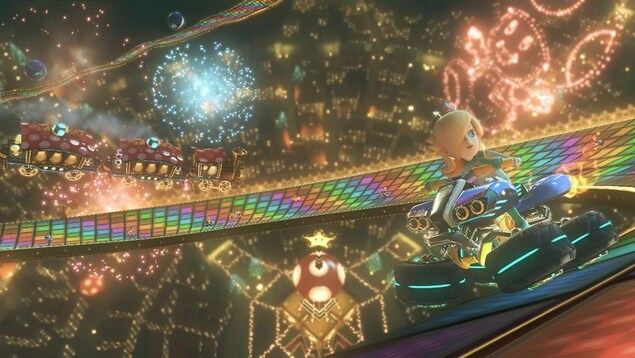 Mario Kart 8 Deluxe est le neuvième titre de la série Mario Kart de Nintendo.