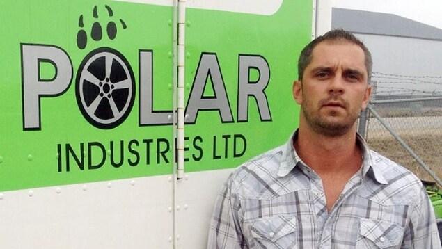 Mark Kohaykewych est le président de Polar Industries une compagnie spécialisée dans le transport de marchandise dans le nord.