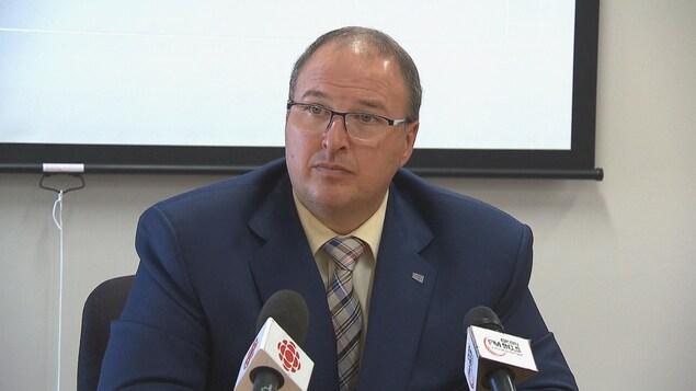Martin Beaumont, directeur général du CIUSSS MCQ