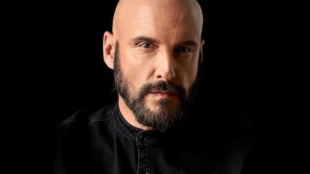 Portrait de l'écrivain Martin Michaud.