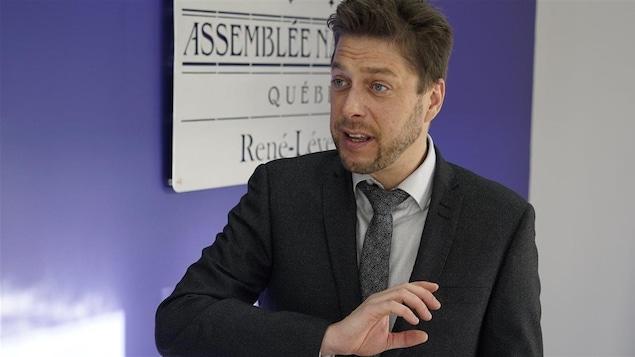 Martin Ouellet, député du Parti québécois de René-Lévesque.