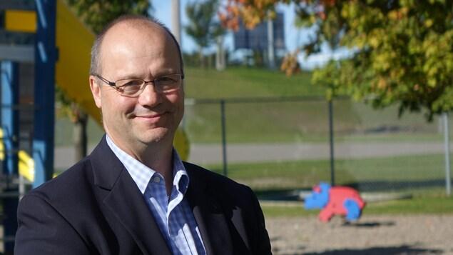 Le maire de Mont-Joli, Martin Soucy