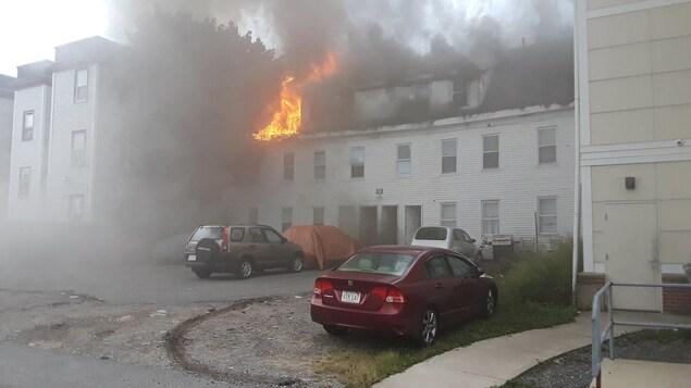 Dix blessés lors d'une série d'explosions près de Boston — Etats-Unis