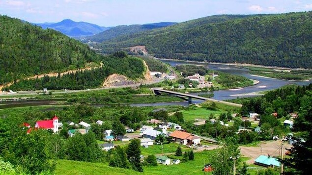 La vallée de la Matapédia.