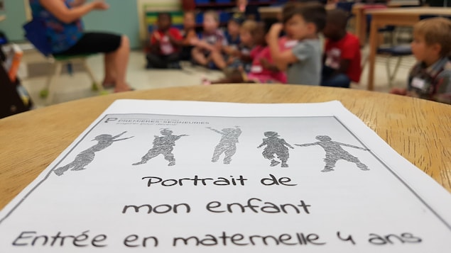 Une classe de maternelle.