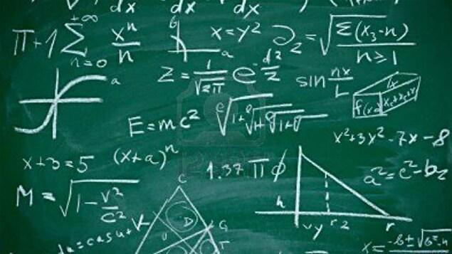 Formules mathématiques.