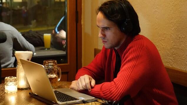 Maxime Bey-Rozet, doctorant en études cinématographiques à l'Université de Pittsburgh.