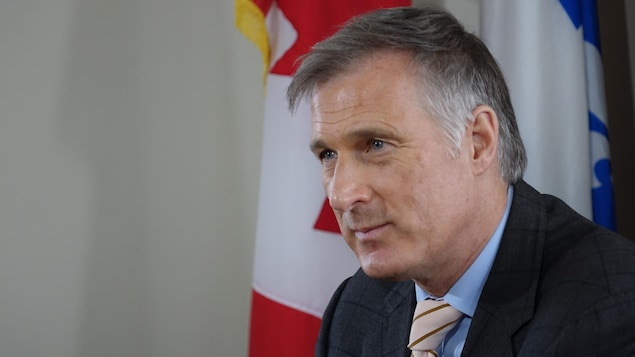 Maxime Bernier, candidat à la chefferie du PCC