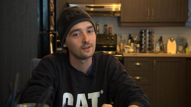 Maxime Richard, 27 ans, opérateur de pelle mécanique à Havre-Saint-Pierre
