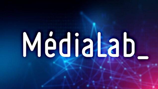 Le logo du Médialab.
