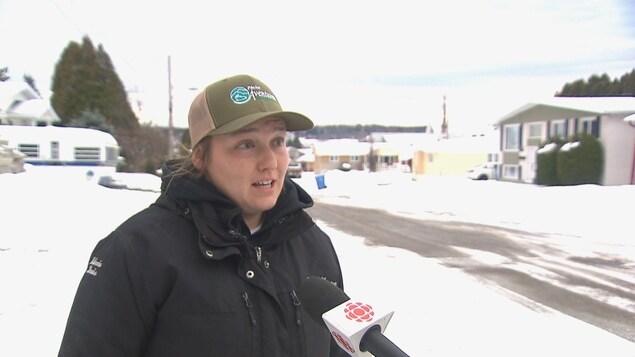 Mélanie Davis-Lavoie, propriétaire de Pêche Aventures Saguenay