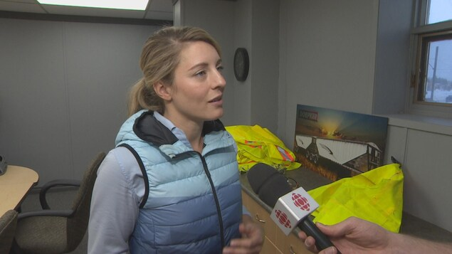 Mélanie Joly en entrevue