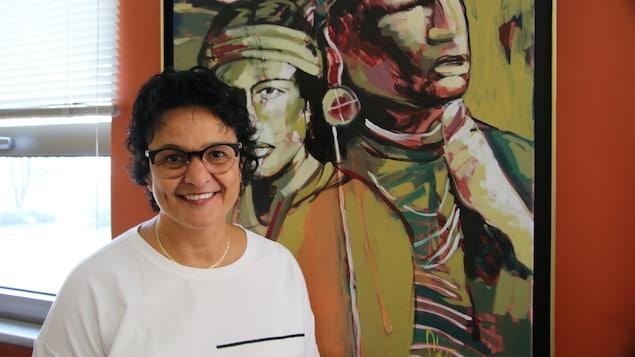Melissa Launière, directrice de l'école Kassinu Mamu