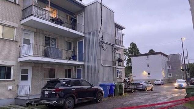 Un immeuble à logements