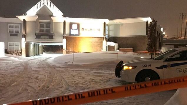 La victime a été retrouvée dans cet hôtel de Sainte-Foy.