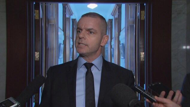 Le secrétaire général de l'Assemblée nationale, Michel Bonsaint