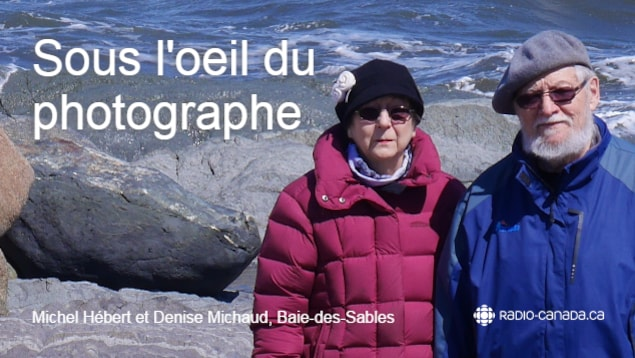 Michel Hébert et sa femme, Denise Michaud