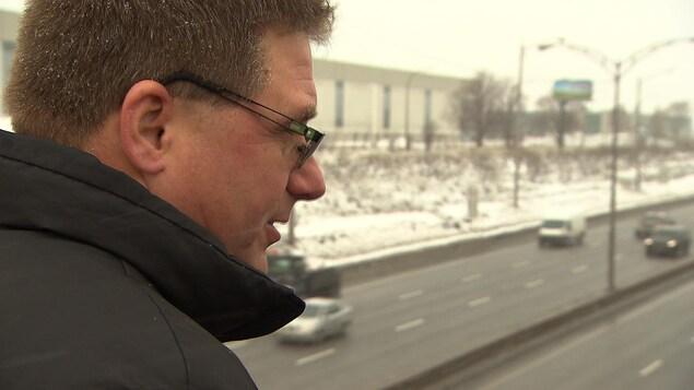 Michel Lapointe, ex-officier des mesures d'urgence à la SQ