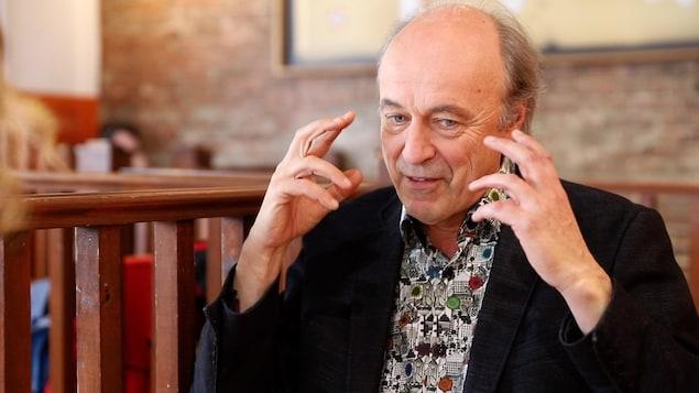 Le comédien Michel Nadeau