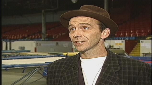 Michel Rousseau, avant son départ de l'École de cirque de Québec