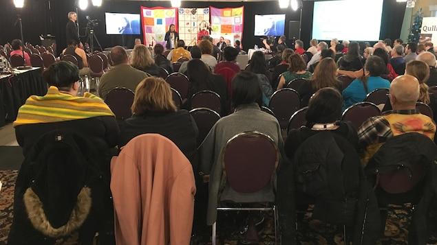 Audiences sur femmes autochtones disparues et assassinées à Thunder Bay.