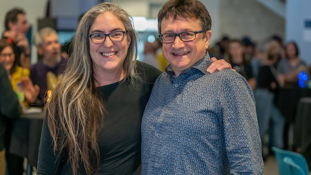 Michèle Ouellet (1990) et Eddy Métivier (1970) prendront part à une discussion sur la vie étudiante au cégep lors de la Nuit blanche à la bibliothèque.
