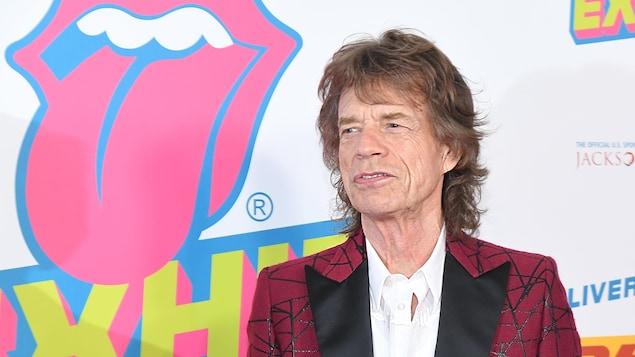 Mick Jagger, chanteur des Rolling Stones, à New York en novembre 2016 .