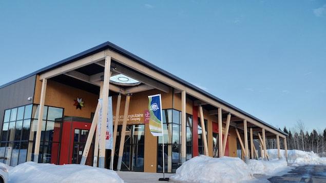 Centre administratif et salle communautaire de la communauté de Gespeg