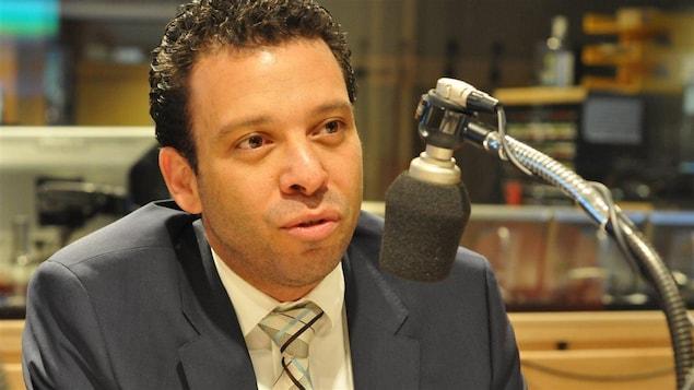 Haroun Bouazzi, coprésident de l'Association des musulmans et des Arabes pour la laïcité au Québec