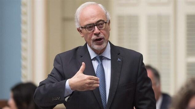 Le ministre des Finances, Carlos Leitao (25 octobre 2016)