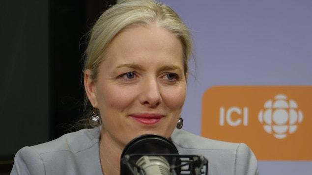 La ministre de l'Environnement et du Changement climatique Catherine McKenna,