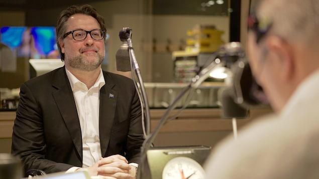 David Heurtel, le ministre québécoise de l'Immigration