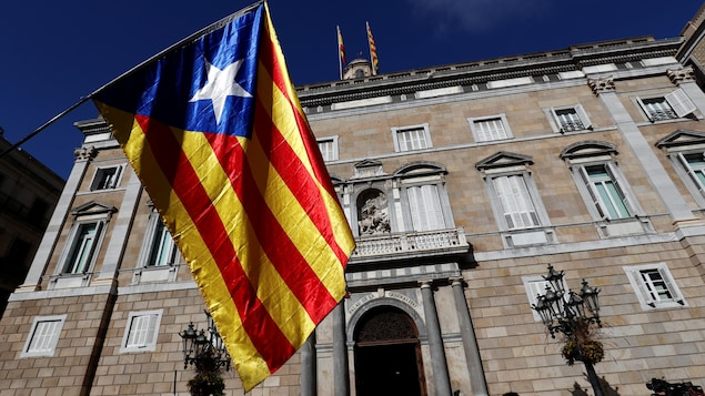 Le drapeau de la Catalogne