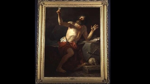 Le Musée de la civilisation du Québec est dépositaire de l'oeuvre «Saint Jérôme entendant les trompettes du Jugement Dernier» réalisé par Jacques-Louis David