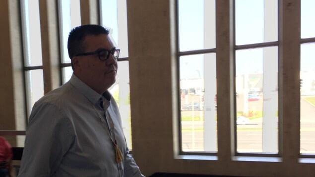 Mike McKenzie au palais de justice