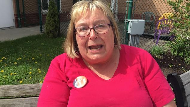 Margreit Parry, militante néo-démocrate.
