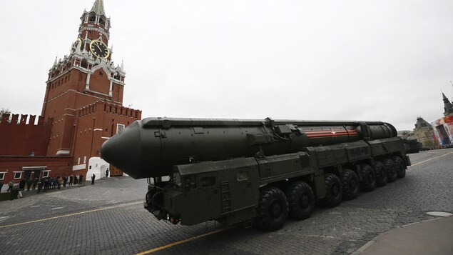 Topol M, un missile russe intercontinental.