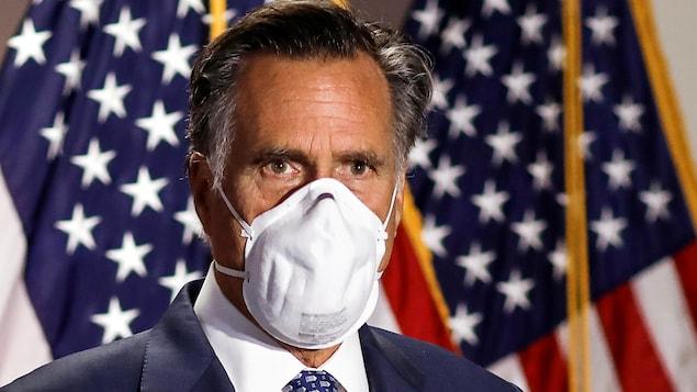 Le sénateur républicain Mitt Romney.
