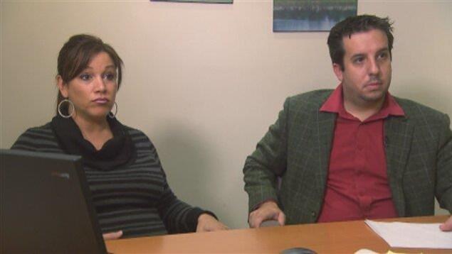 Sarah Sullivan et Jean-Sébastien Monette, propriétaire du Club Vacances Toutes Saisons