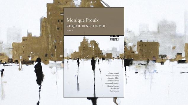 La couverture du livre «ce qu'il reste de moi» de Monique Proulx, en format de poche (Boréal compact)