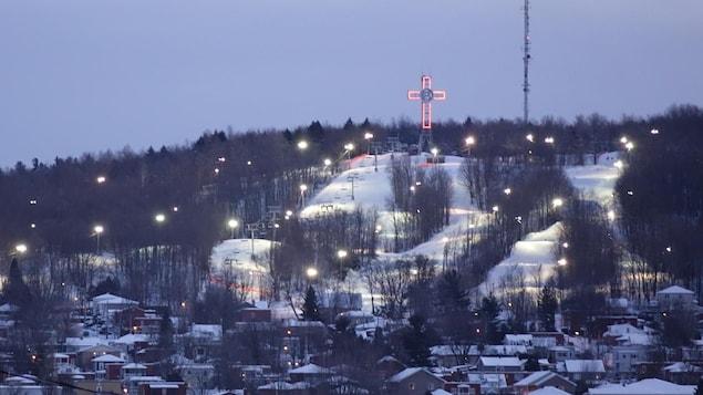 Le mont Bellevue à Sherbrooke