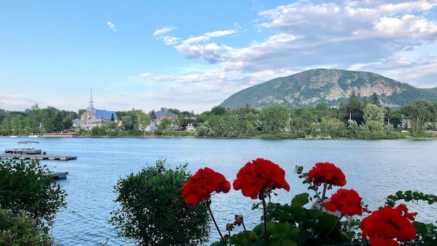 Vue du mont Saint-Hilaire.