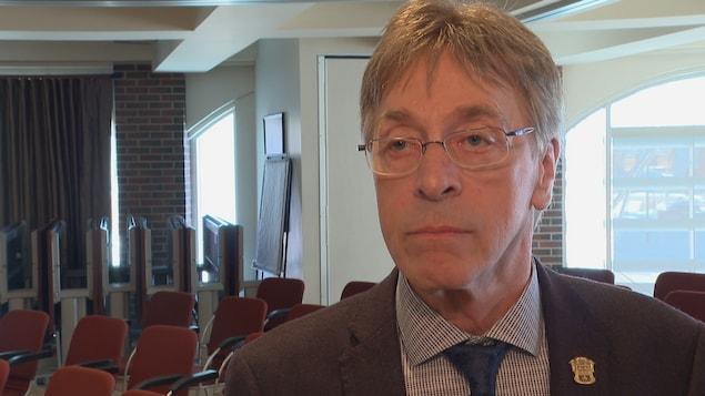 Le maire de Montmagny Rémy Langevin