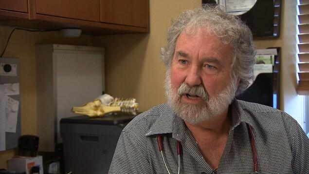 Michel Vachon, président de l'Association des médecins omnipraticiens de Montréal